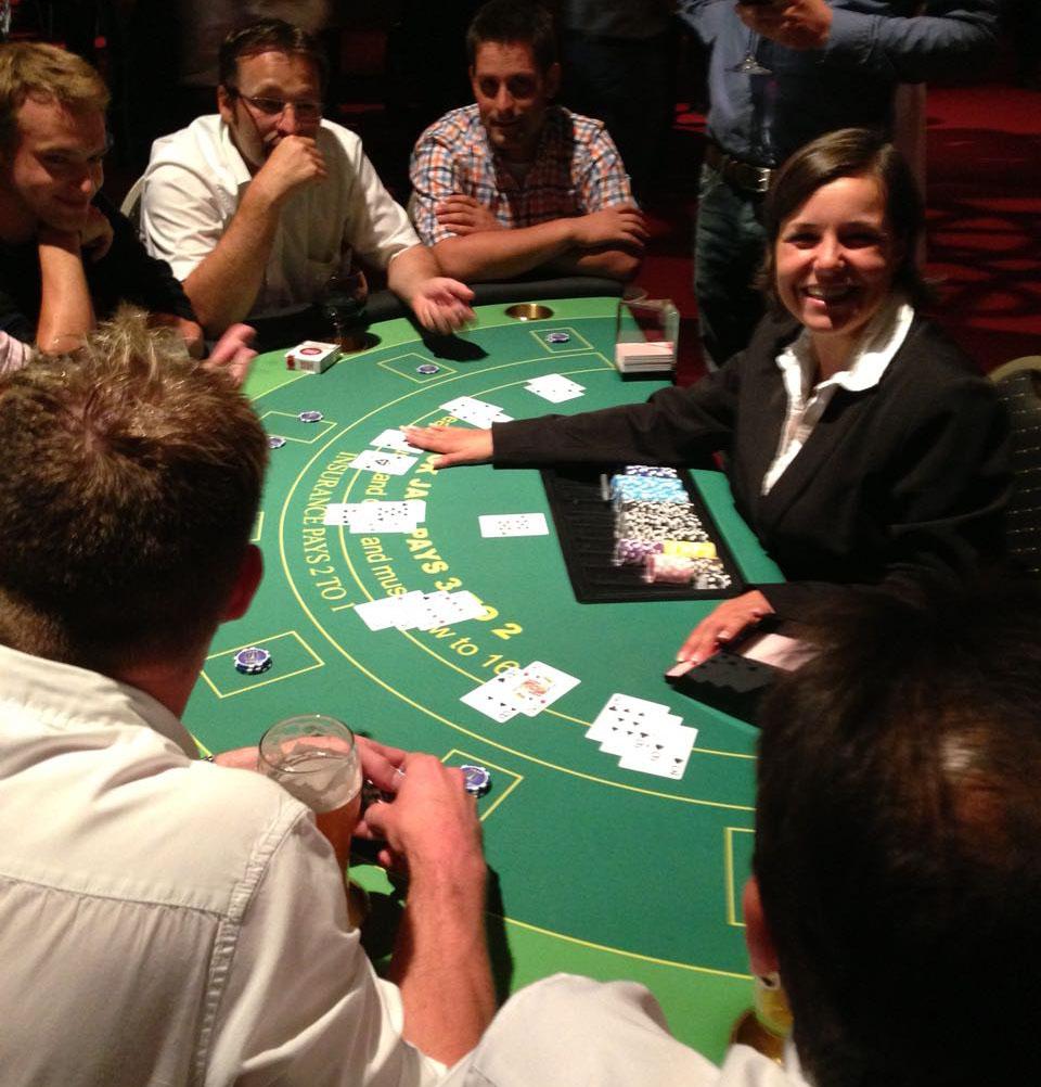 Casino-Spiele wie Black Jack für Ihr Event