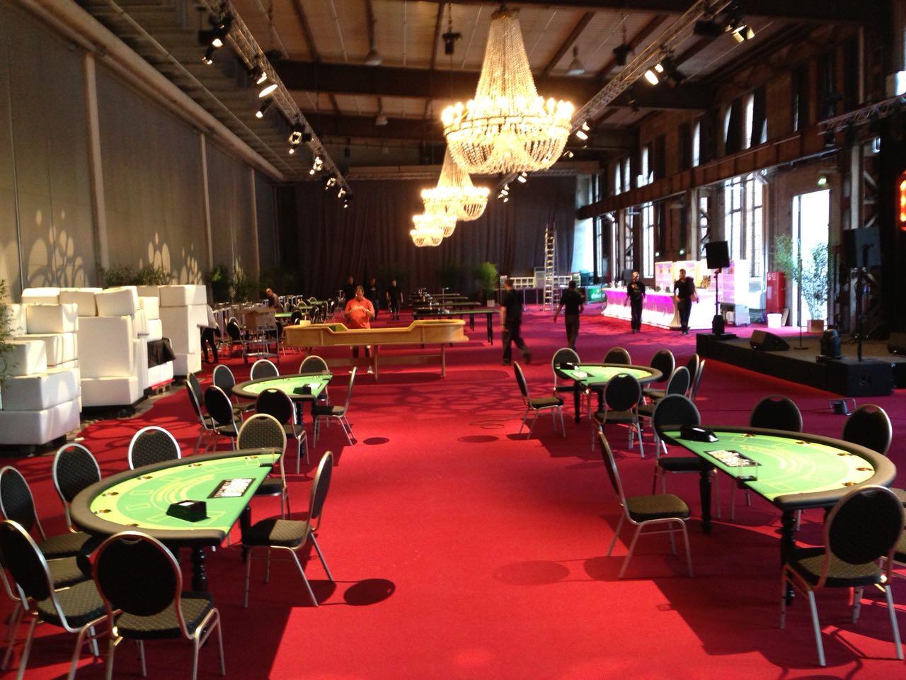 Planung: Casino mieten für geschäftliche und berufliche Veranstaltungen