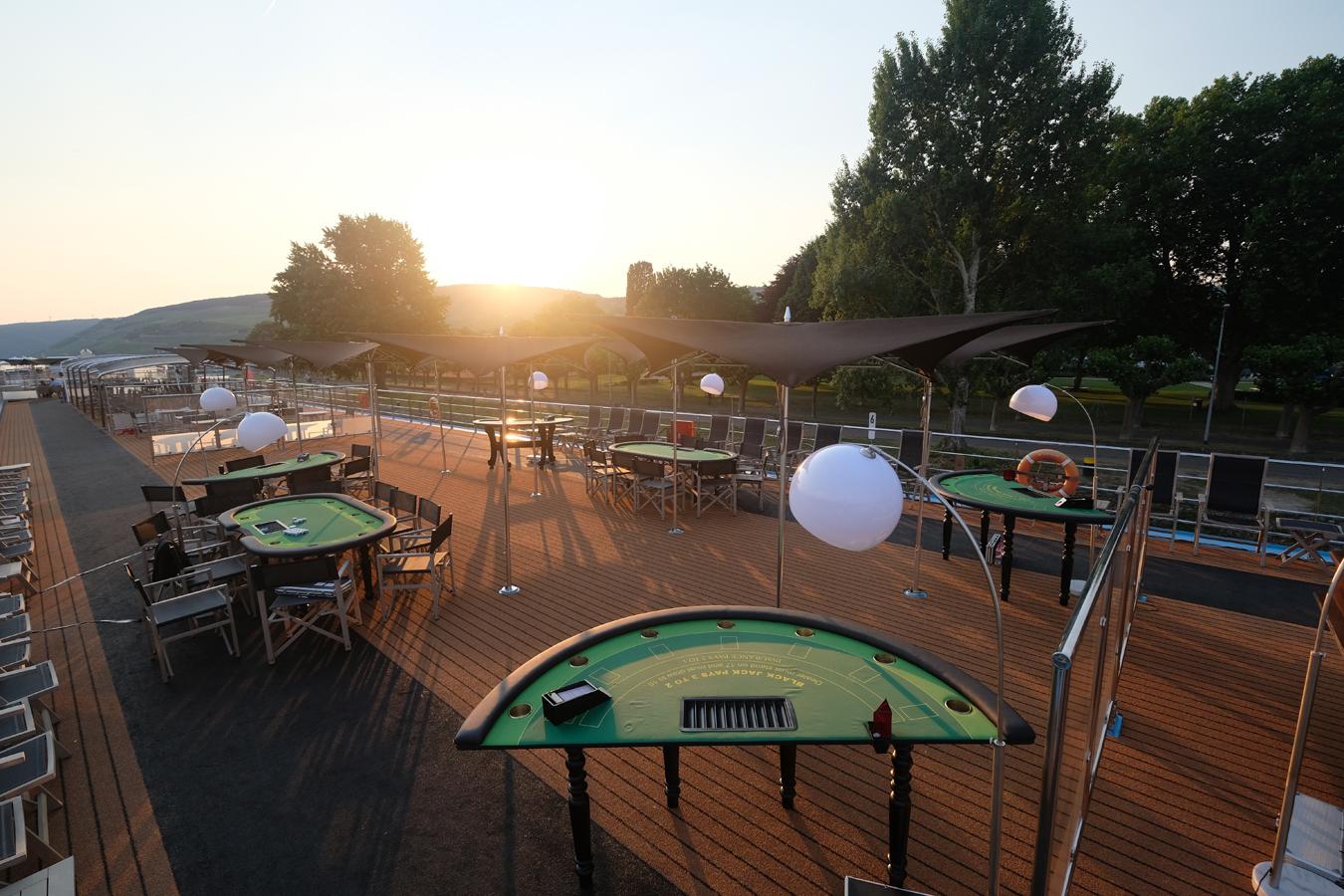 Planung: Event-Casino auf einem Schiff