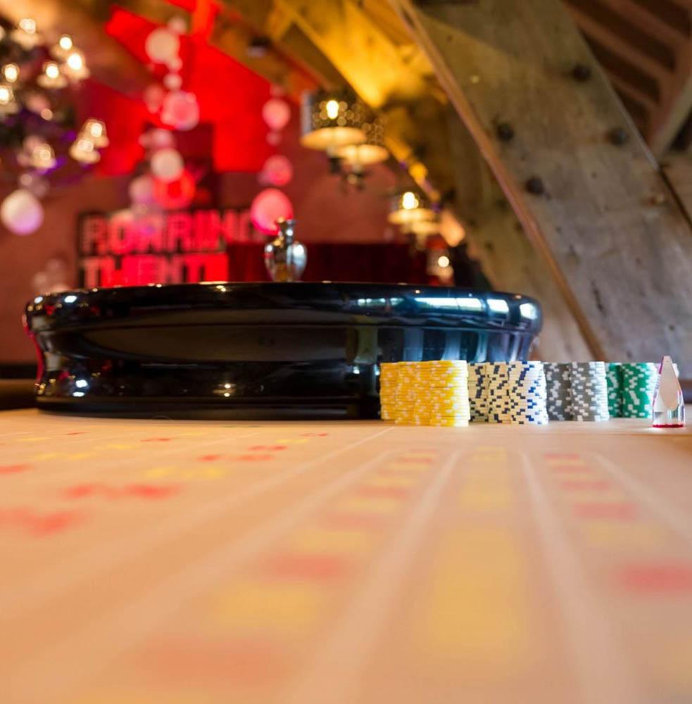 Roulette Tisch mieten