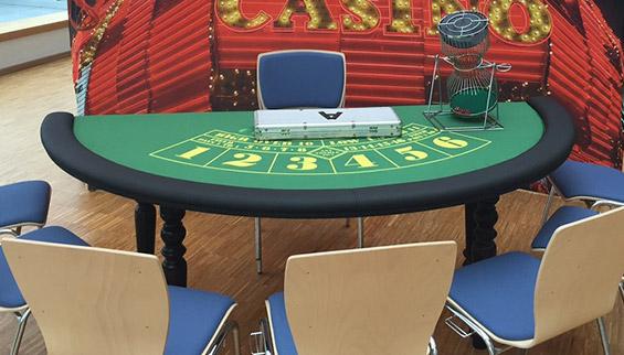 Mobiles Casino mieten: Chuck-a-Luck-Tisch mieten