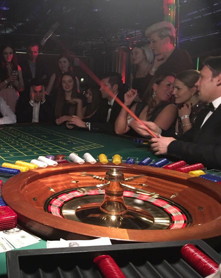 Event-Casino zum Mieten: Französisches Roulette