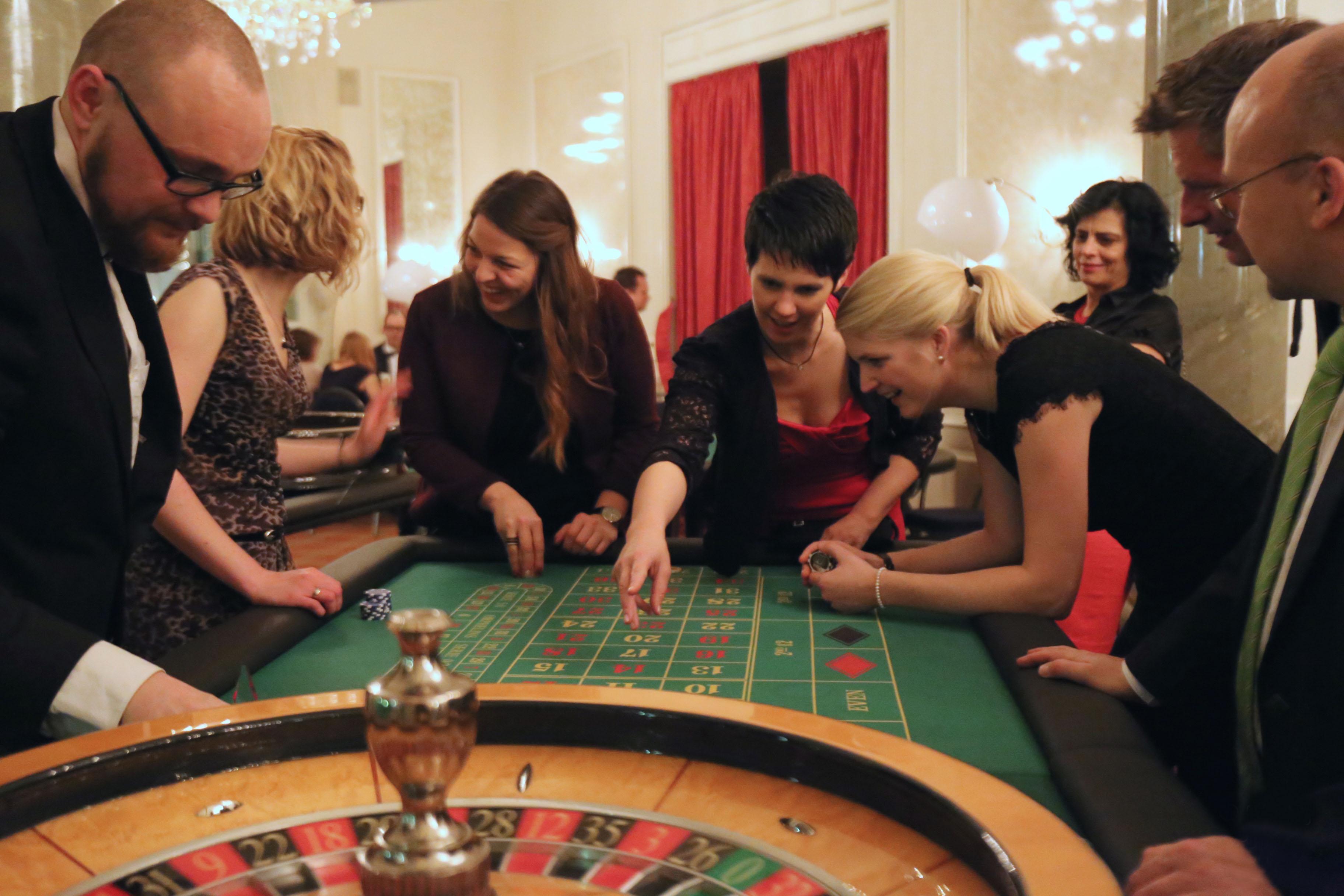 Amerikanisches Roulette: Casino Equipment mieten