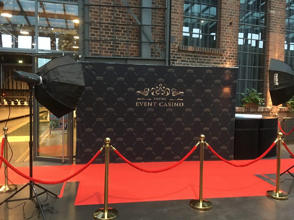 Red Carpet Empfang bei der Casino-Veranstaltung