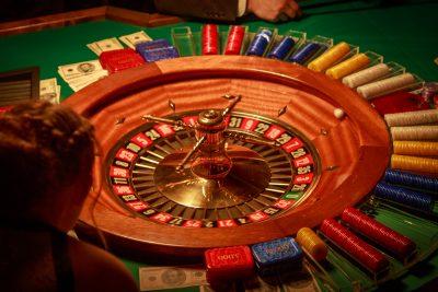 Mobiles Casino mieten mit Roulette-Tisch