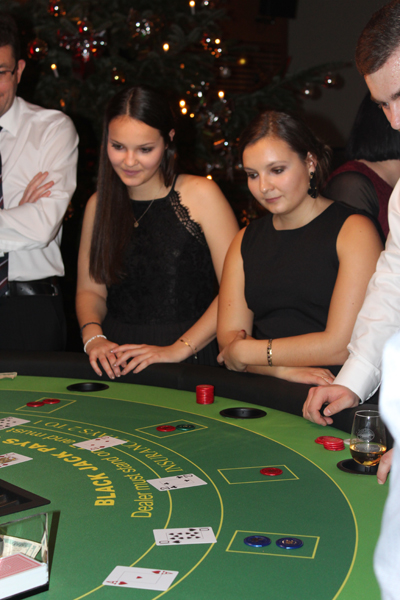 Firmenevent mit echtem Casino-Flair