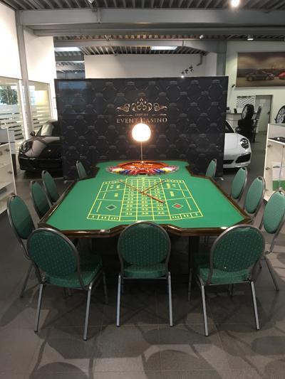 Casino-Event im Porsche-Autohaus