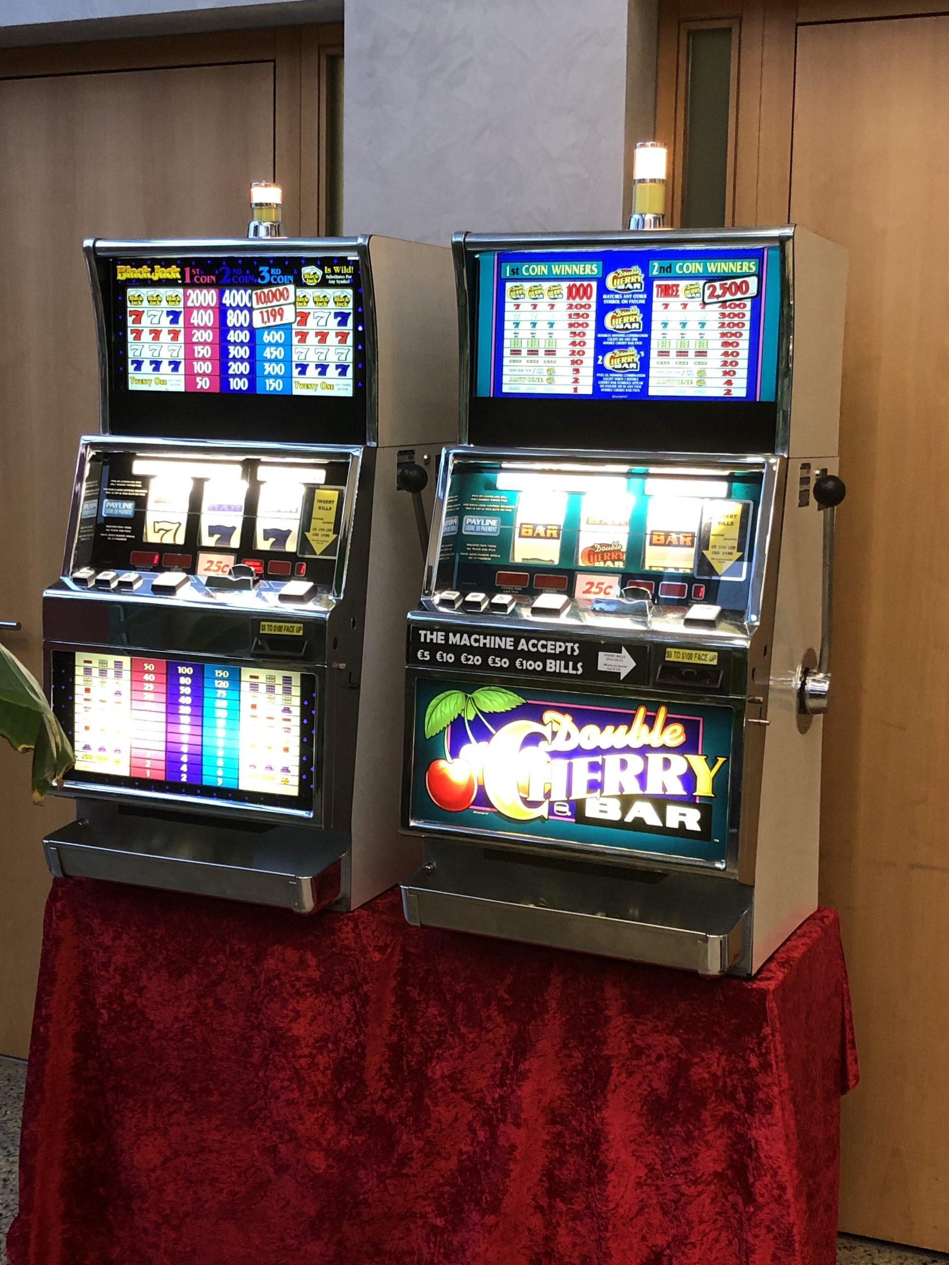 Slot Machines oder einarmiger Bandit